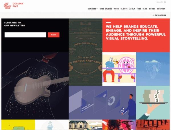 在網頁設計如何運用明亮色彩吸引眼球