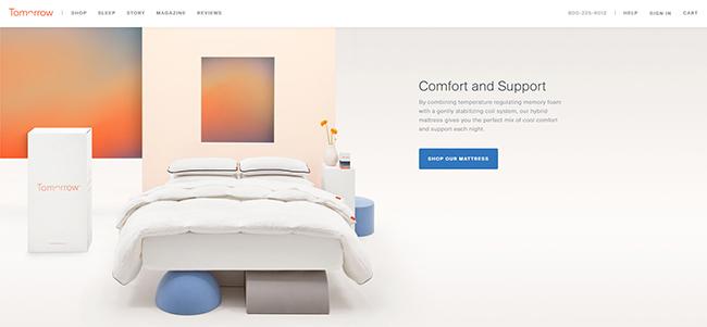 網頁設計優秀案例:盤點令人驚嘆的滾動效果設計