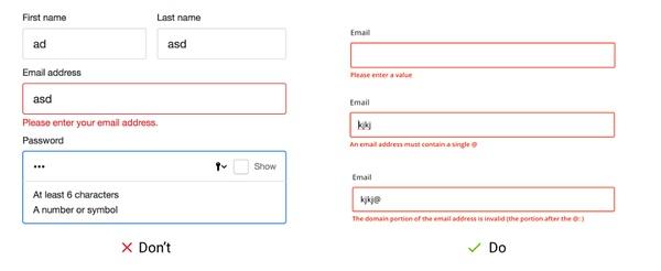 網站設計:製作完美的錯誤信息 讓用戶少走些彎路