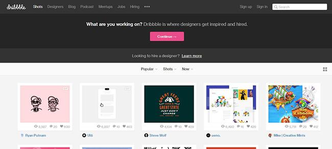 靈感源於借鑒 盤點那些能讓你獲得靈感的設計網站