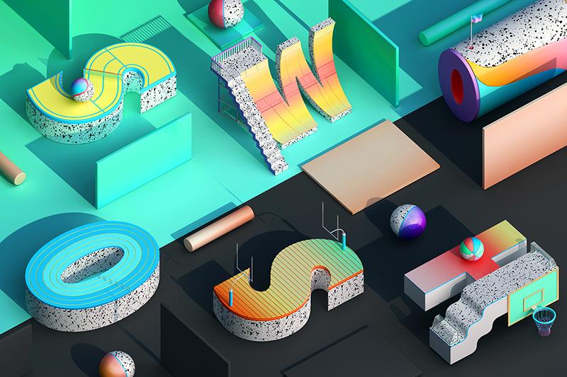 2018年網頁設計趨勢之3D效果