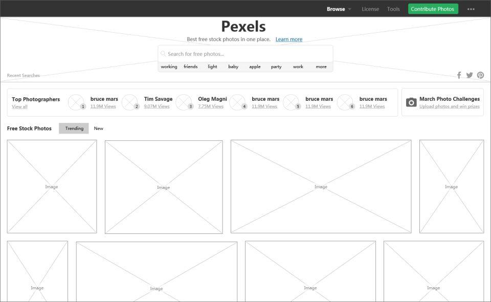 盤點那些設計精細的網站設計模型案例