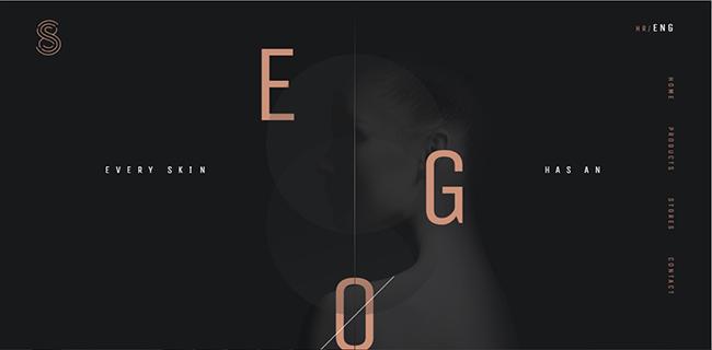 黑白配色的網頁設計如何才能更出彩
