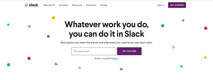 網頁設計案例:如何設計出讓人眼前一亮的網站header