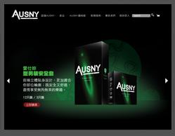 AUSNY網頁設計